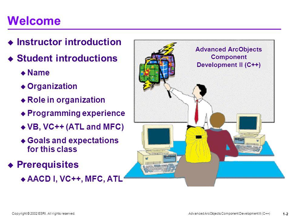 Advanced ArcObjects Component Development II (C++)