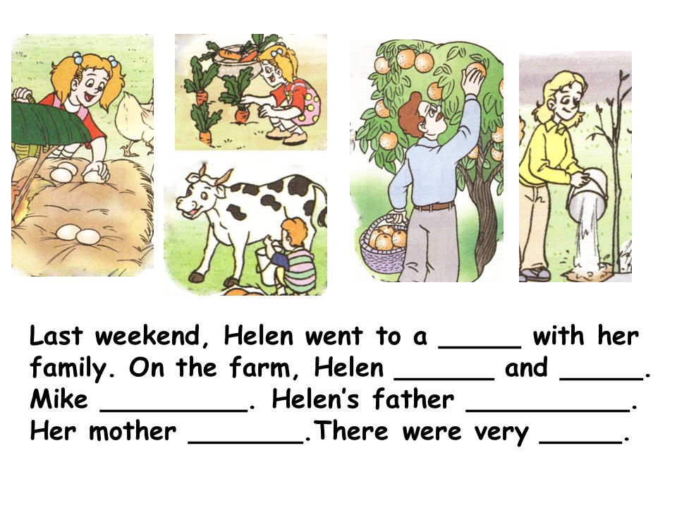 Last weekend, Helen went to a _____ with her family