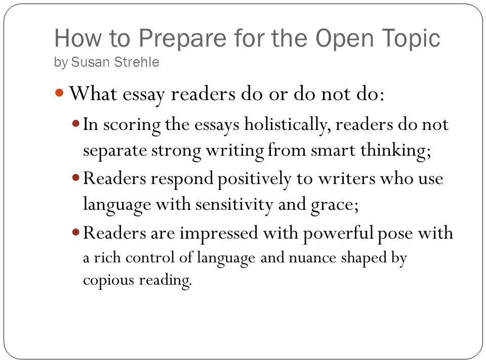 essays for reading A short guide to close reading for literary analysis use the guidelines below to learn about the practice of close reading overview the poem subject.