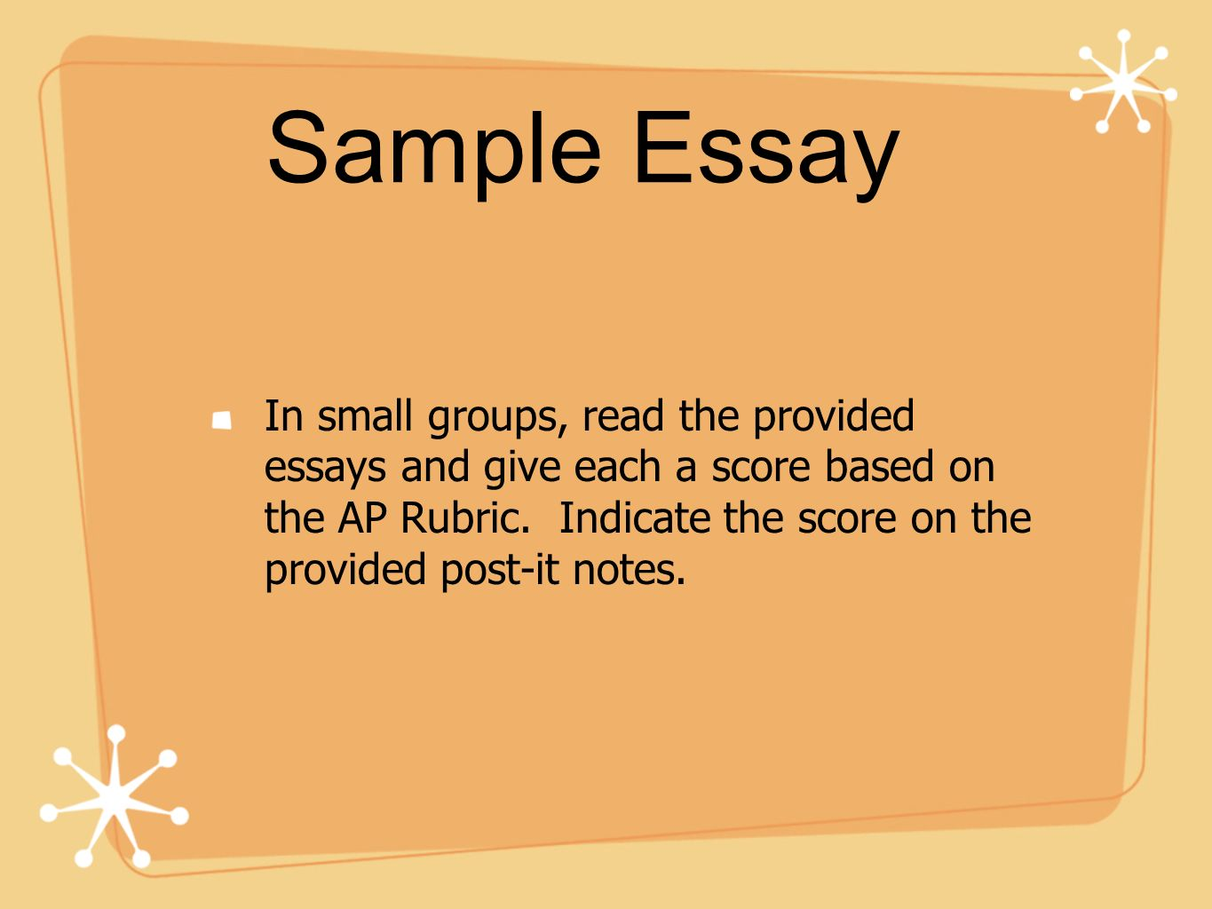 ap lit essays Ap language and composition – grading rubric – rhetorical essay grade description scale 1 scale 2 scale 3 scale 4 9 essays earning a score of 9 meet the criteria.