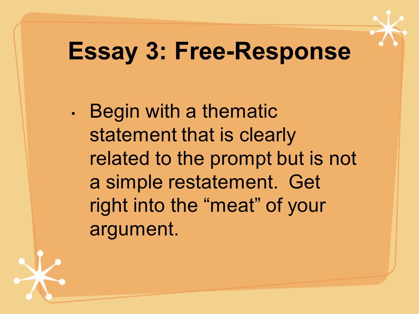 how to approach ap lit essays ppt 6 essay