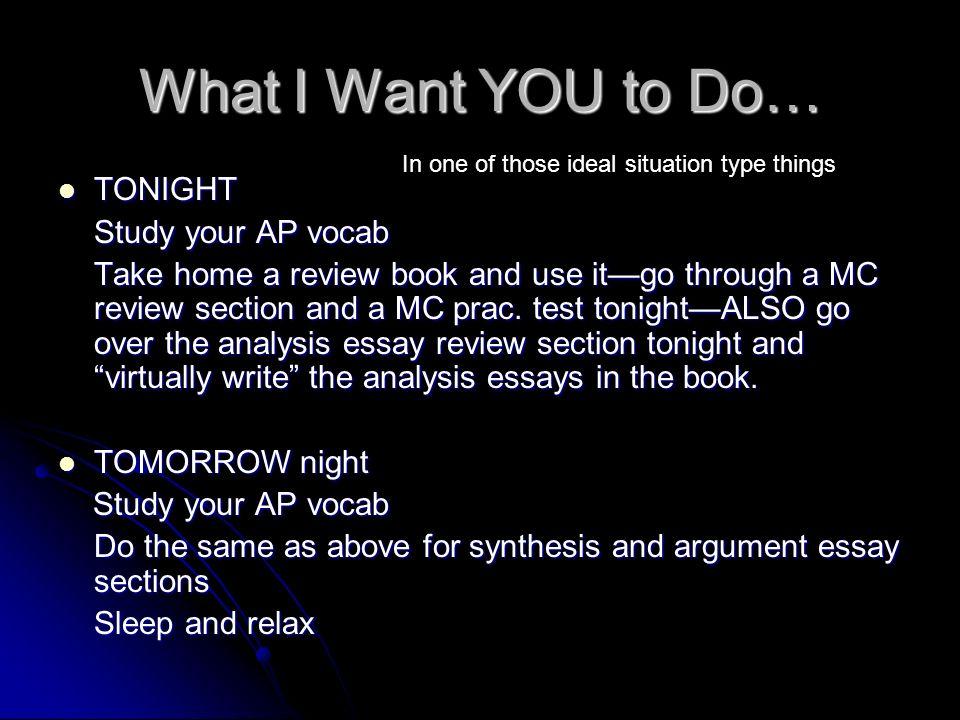 ap english argumentative essay