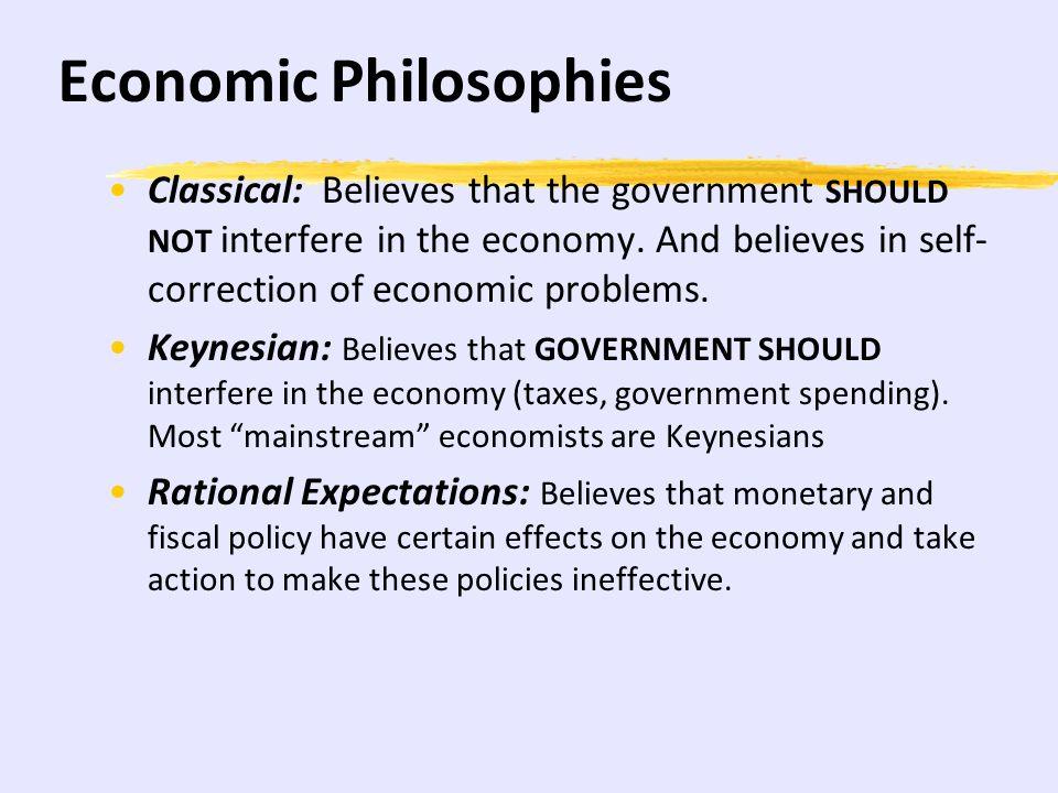 Economic Philosophies
