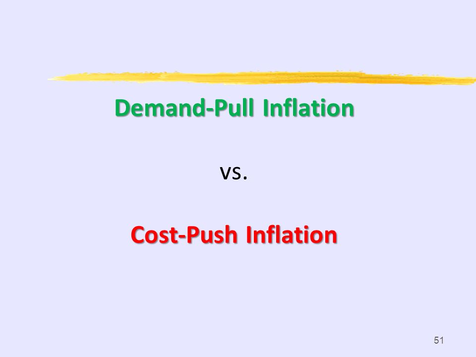 Demand-Pull Inflation vs. Cost-Push Inflation