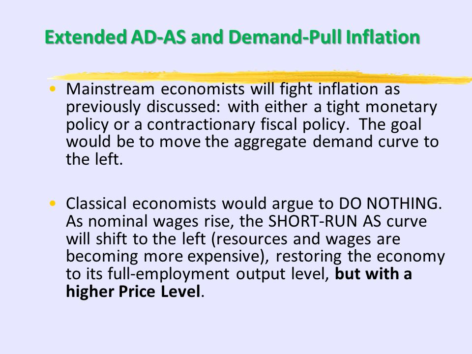 Extended AD-AS and Demand-Pull Inflation