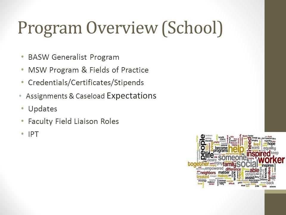 Program Overview (School)