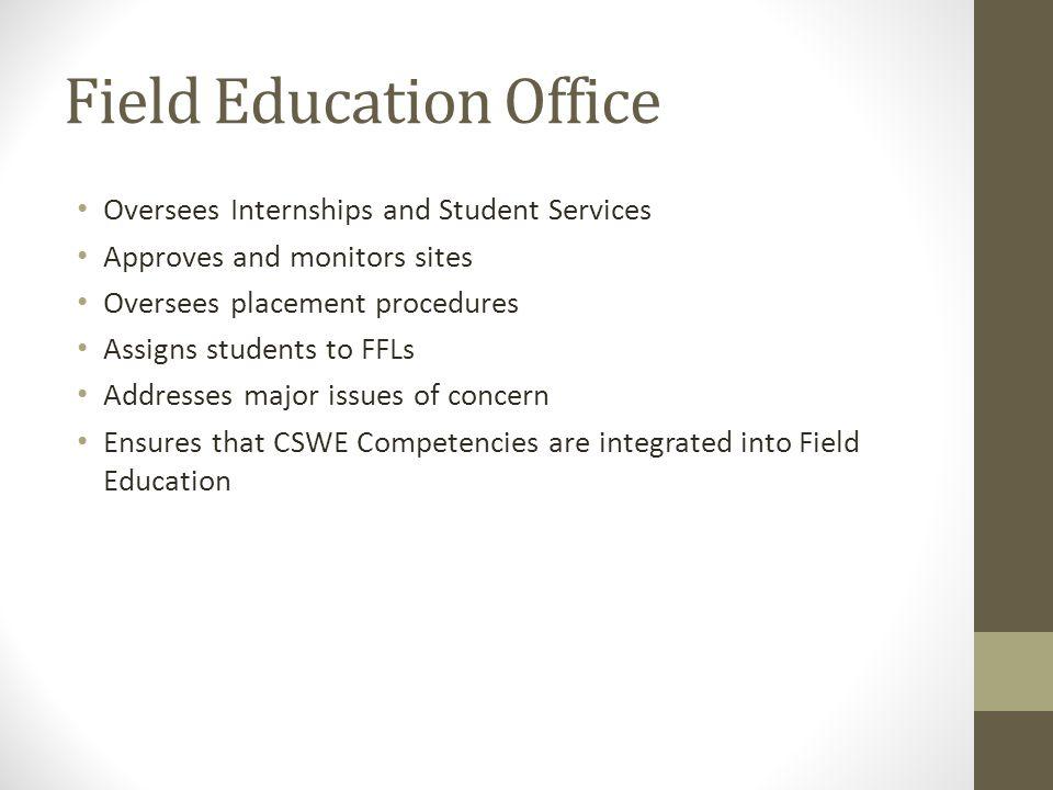 Field Education Office