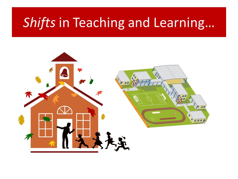 Shifts in Teaching and Learning…