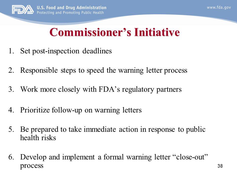 Commissioner's Initiative