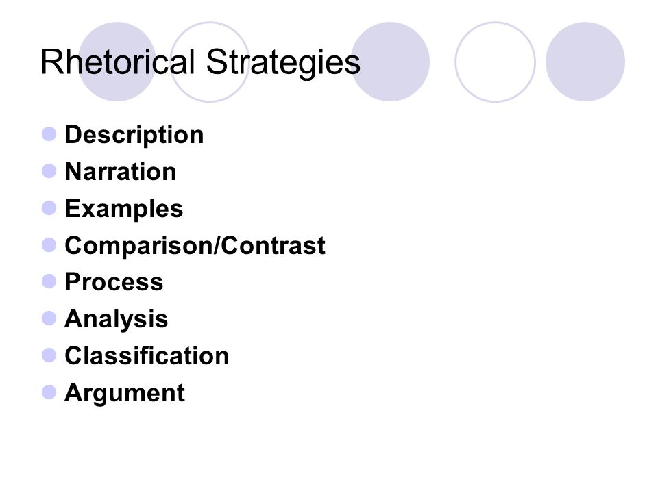 prose analysis essay for the ap language and composition exam  4 rhetorical strategies