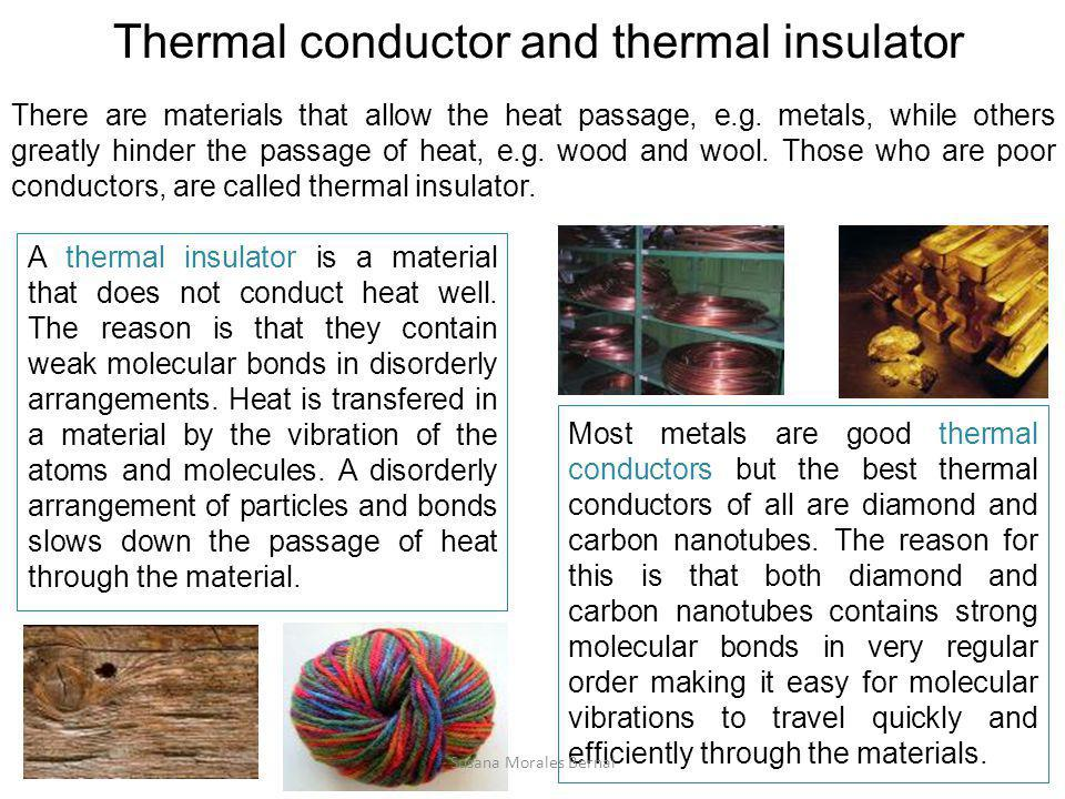 Thermal conductor and thermal insulator