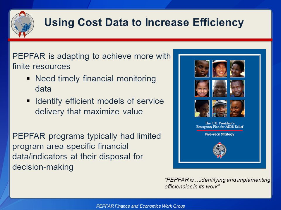 Using Cost Data to Increase Efficiency