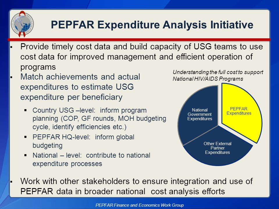 PEPFAR Expenditure Analysis Initiative