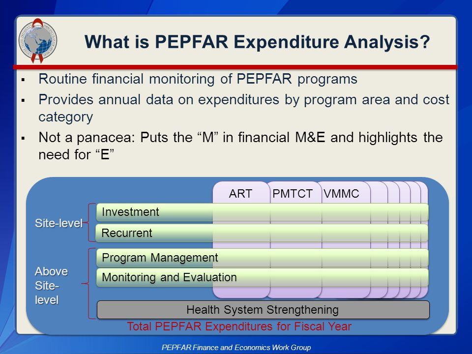 What is PEPFAR Expenditure Analysis