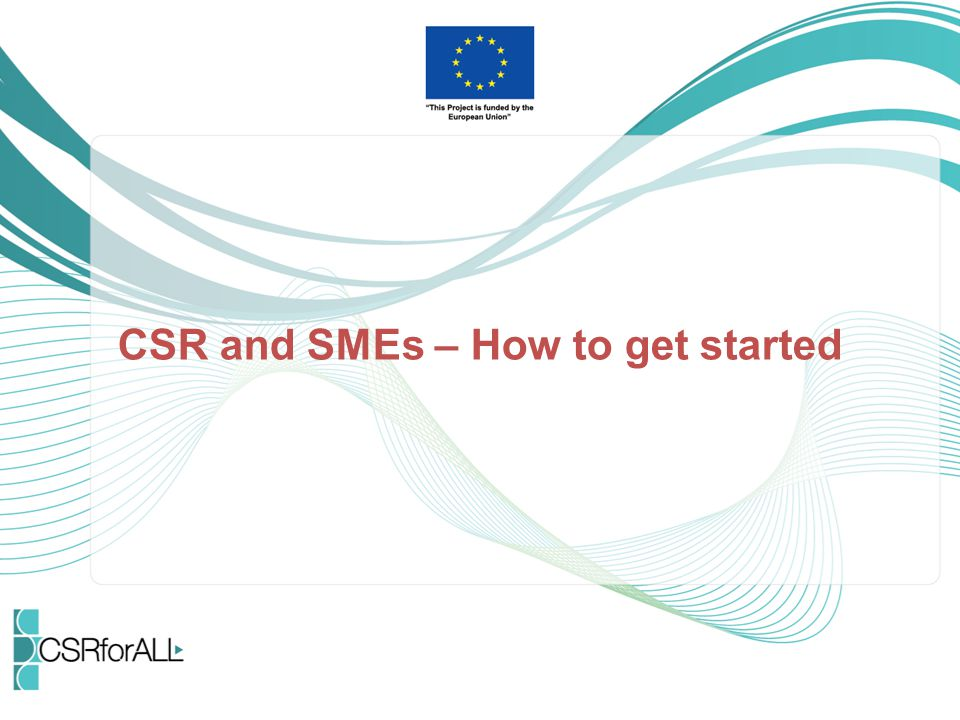 CSR and SMEs – How to get started