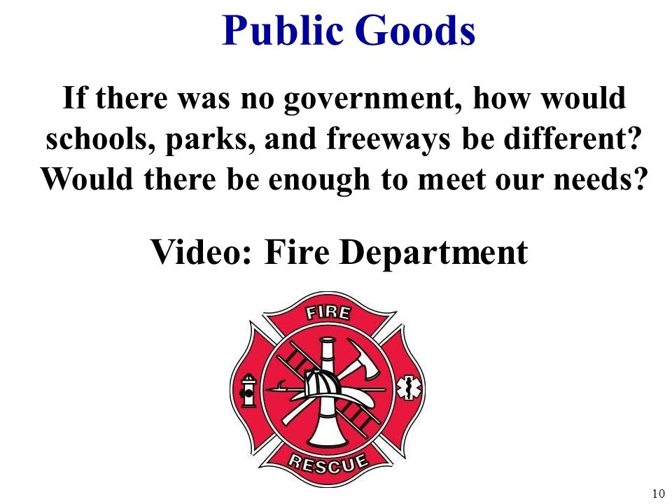 Would there be enough to meet our needs Video: Fire Department
