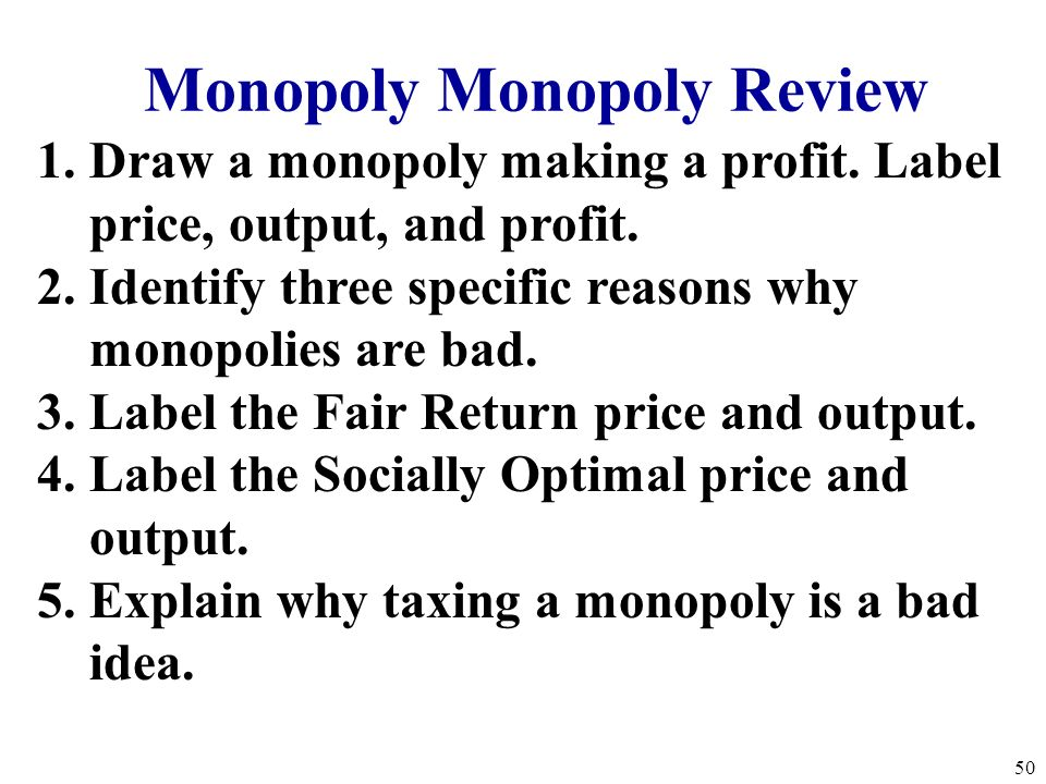 Monopoly Monopoly Review