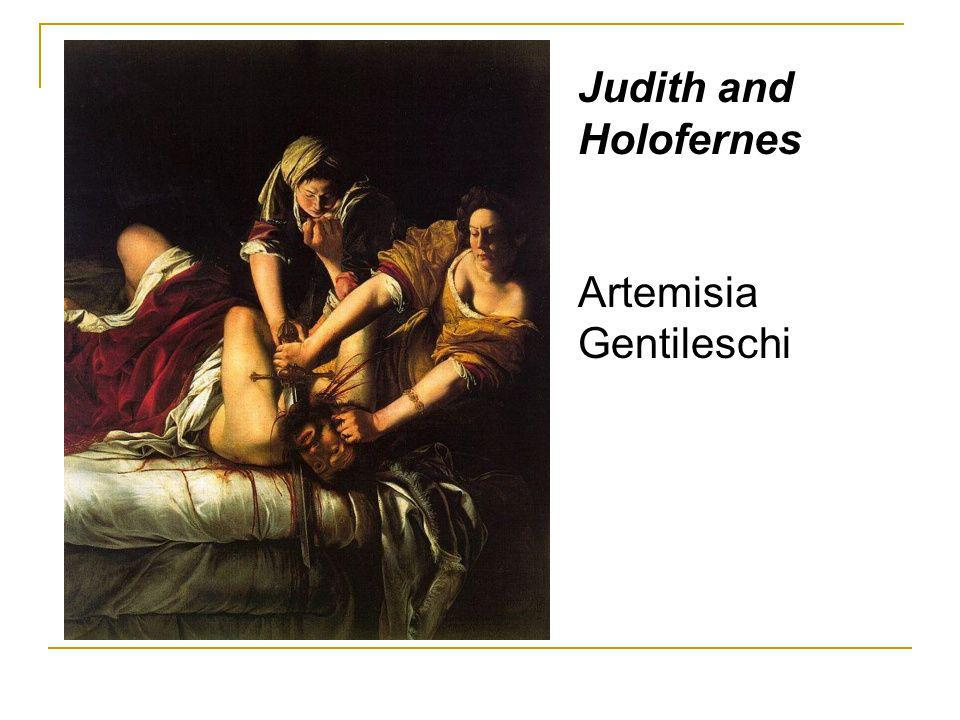 Judith and Holofernes Artemisia Gentileschi
