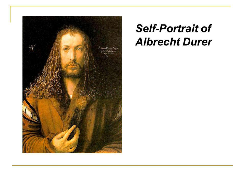 Self-Portrait of Albrecht Durer
