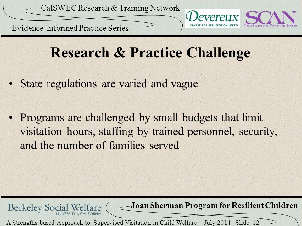 Research & Practice Challenge