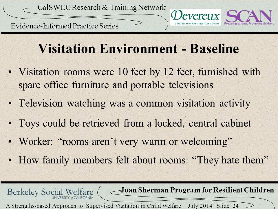 Visitation Environment - Baseline