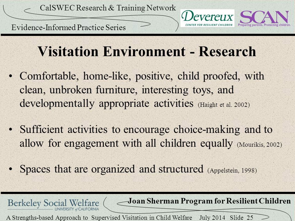 Visitation Environment - Research