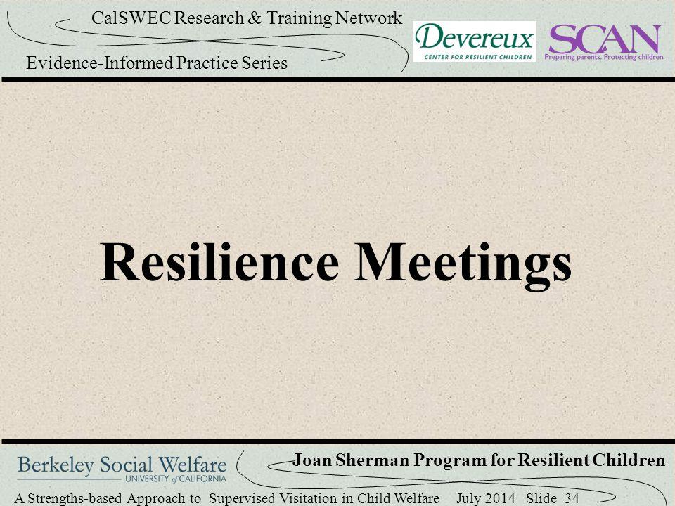 Resilience Meetings