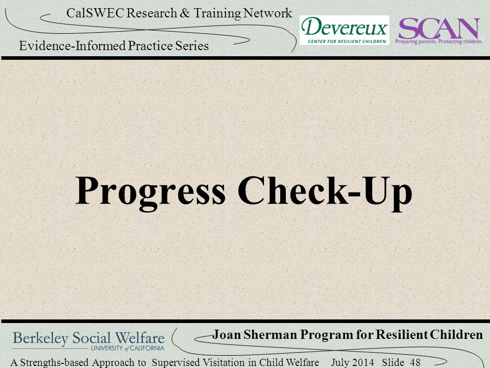 Progress Check-Up