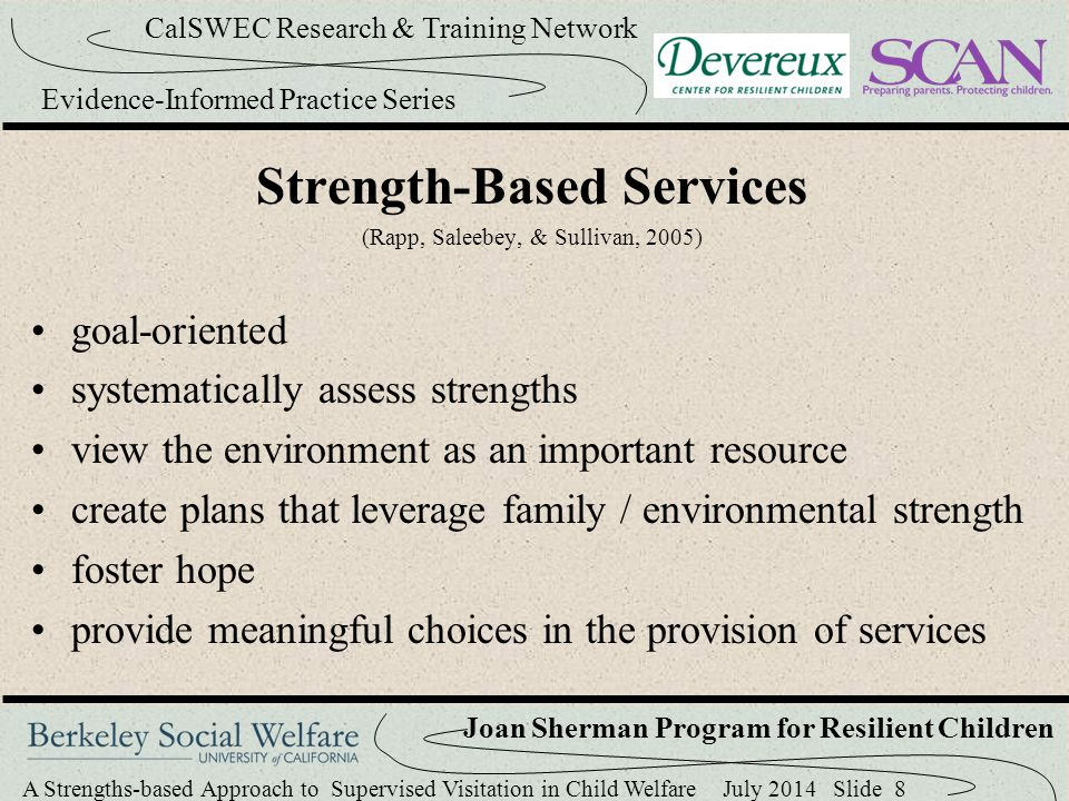 Strength-Based Services