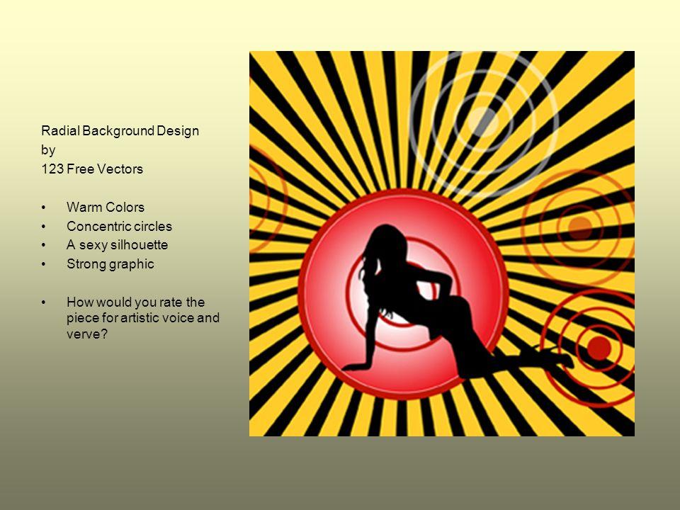 Radial Background Design