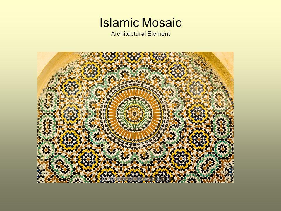 Islamic Mosaic Architectural Element
