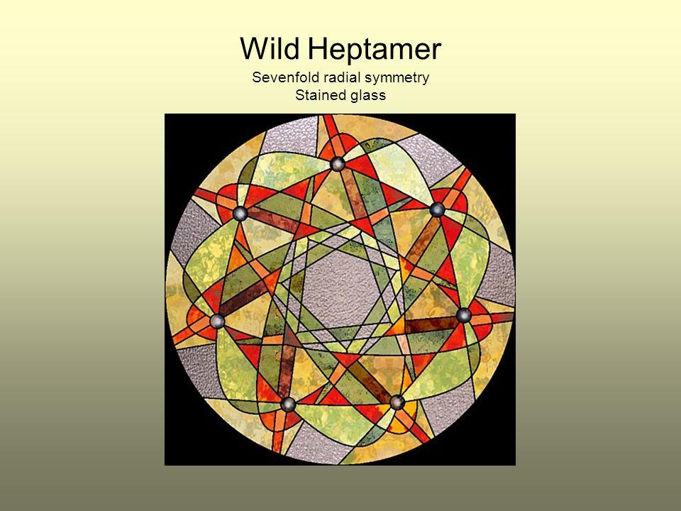 Wild Heptamer Sevenfold radial symmetry Stained glass