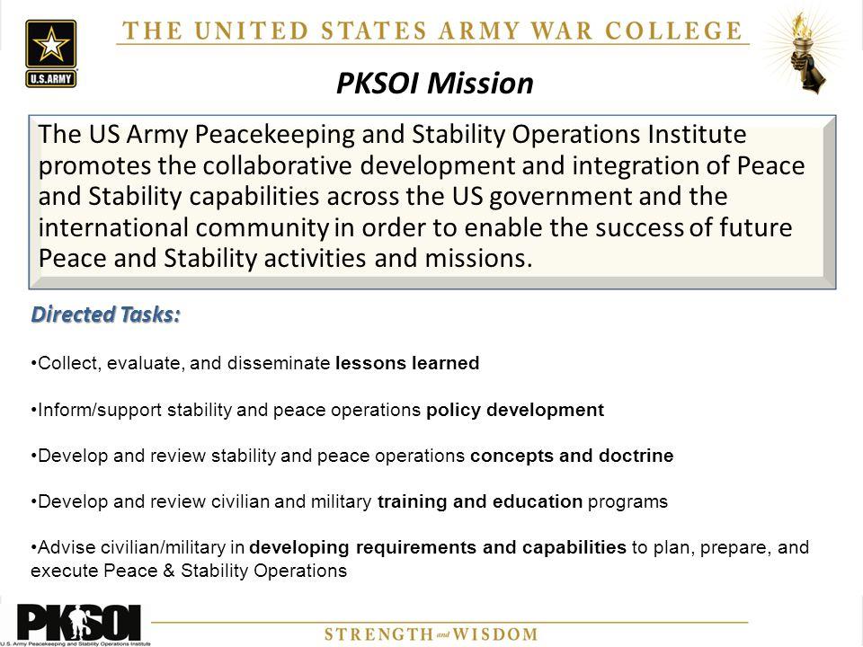 PKSOI Mission