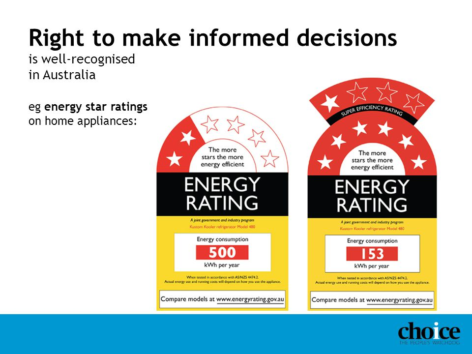 Right to make informed decisions is well-recognised in Australia