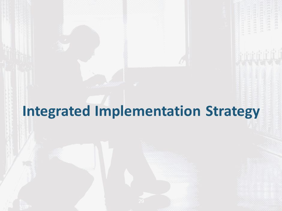 Integrated Implementation Strategy