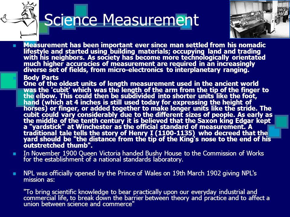 Science Measurement
