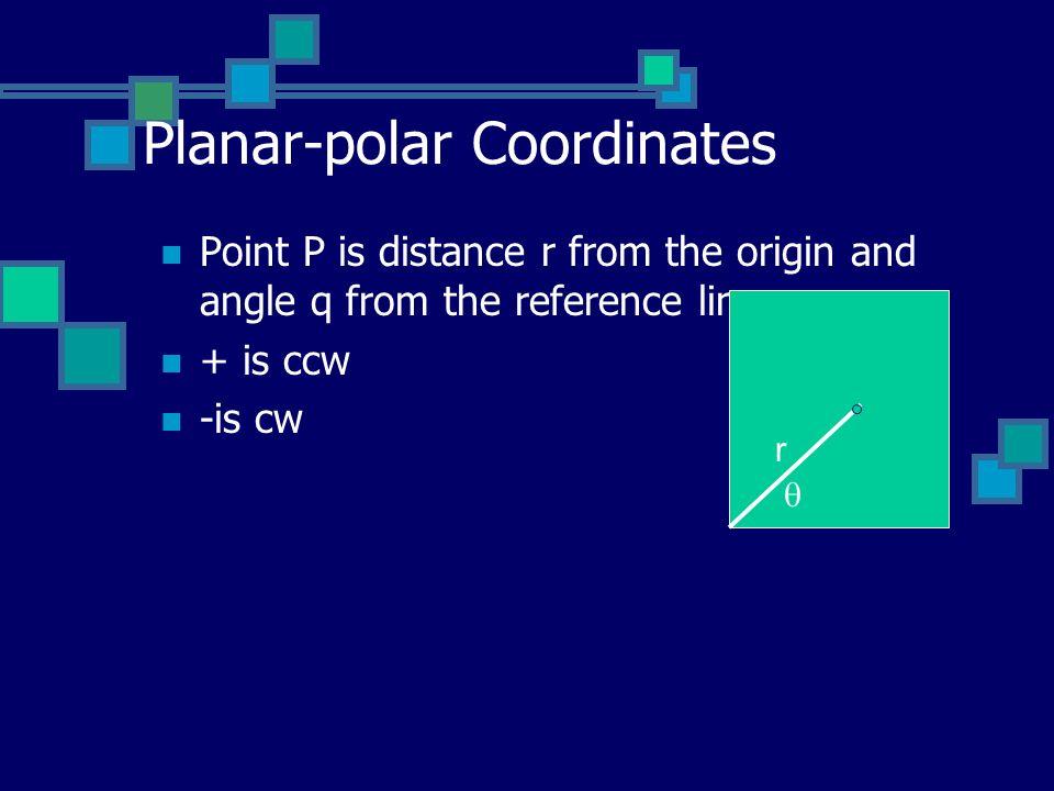Planar-polar Coordinates