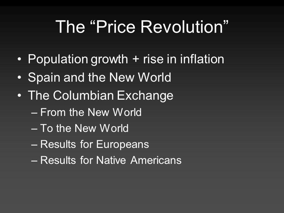 The Price Revolution