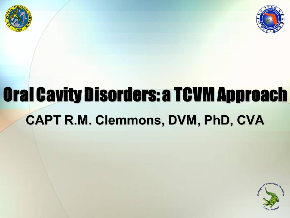 Oral Cavity Disorders: a TCVM Approach