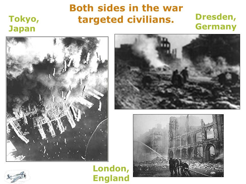 Both sides in the war targeted civilians.
