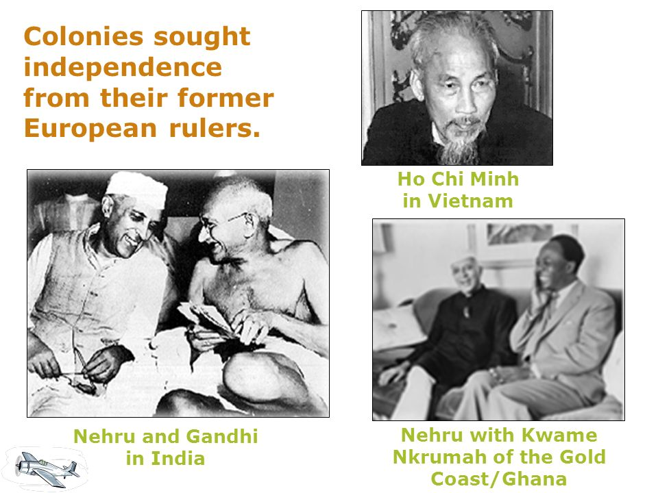 Nehru with Kwame Nkrumah of the Gold Coast/Ghana