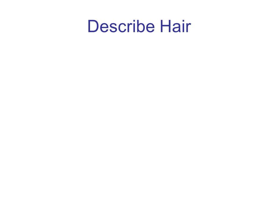 Describe Hair