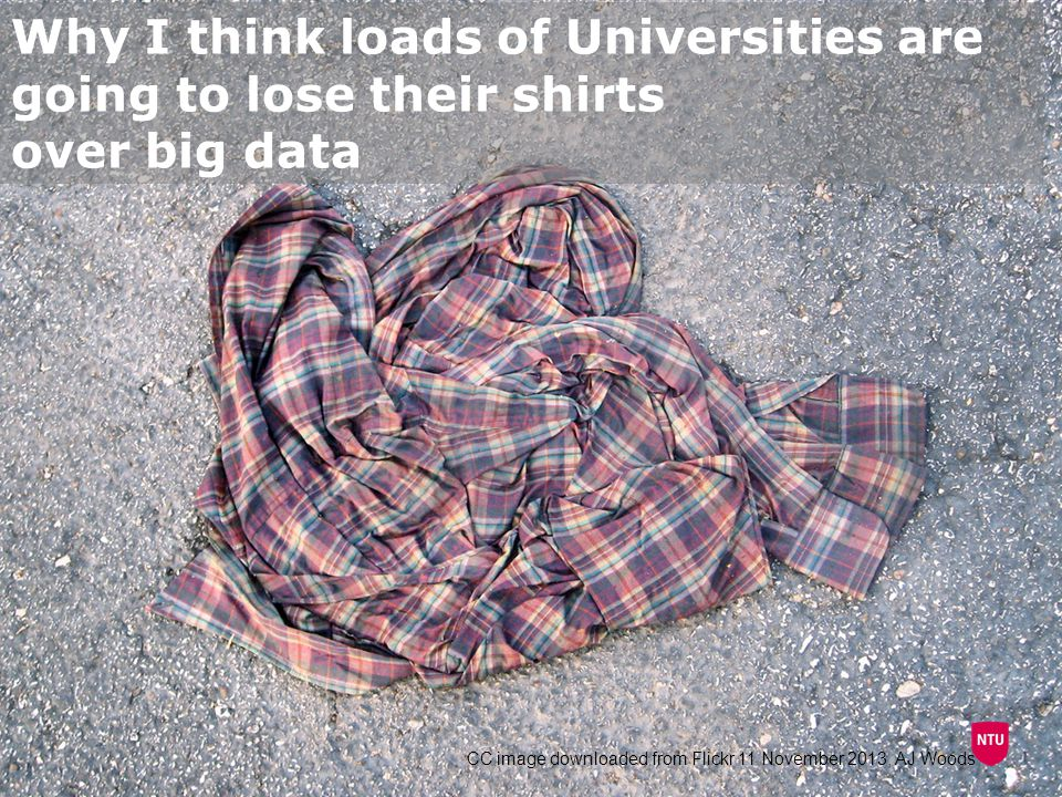 Why I think loads of Universities are going to lose their shirts