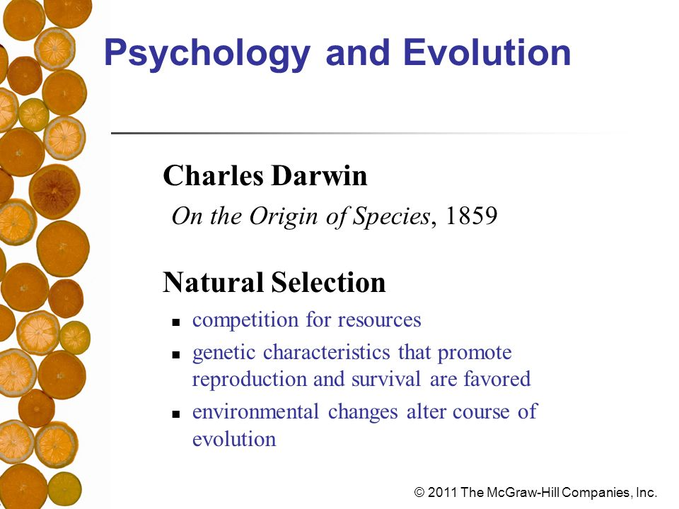 Psychology and Evolution