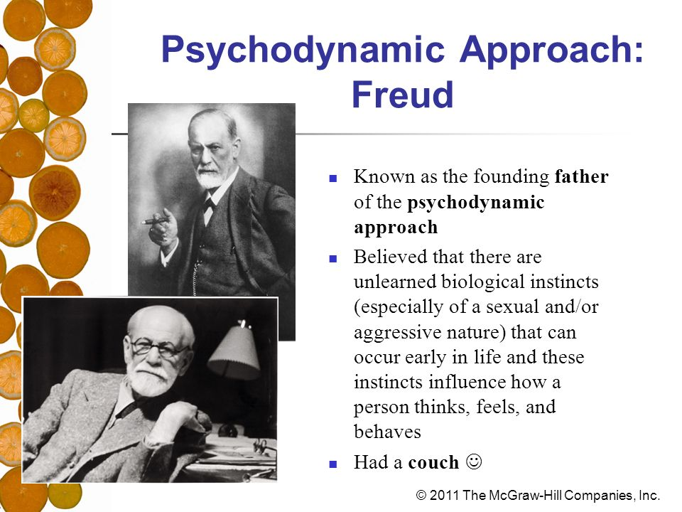 Psychodynamic Approach: Freud