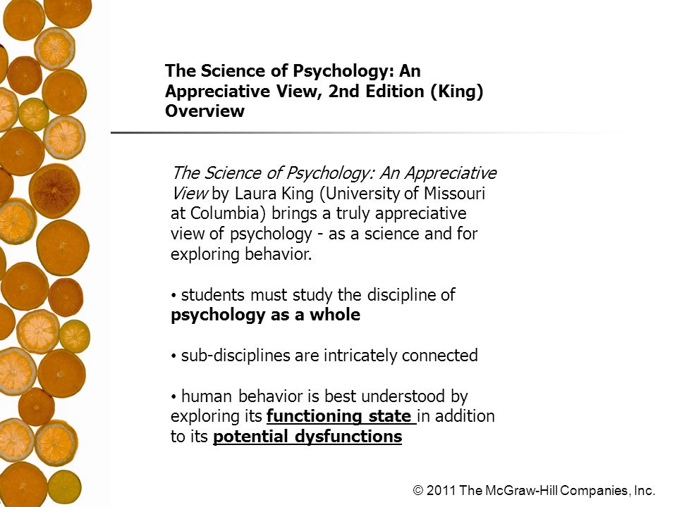 The Science of Psychology: An Appreciative View, 2nd Edition (King)