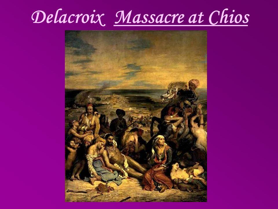 Delacroix Massacre at Chios