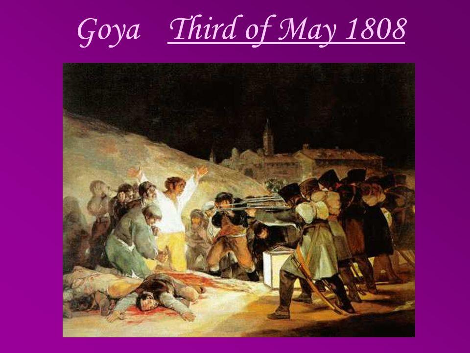 Goya Third of May 1808