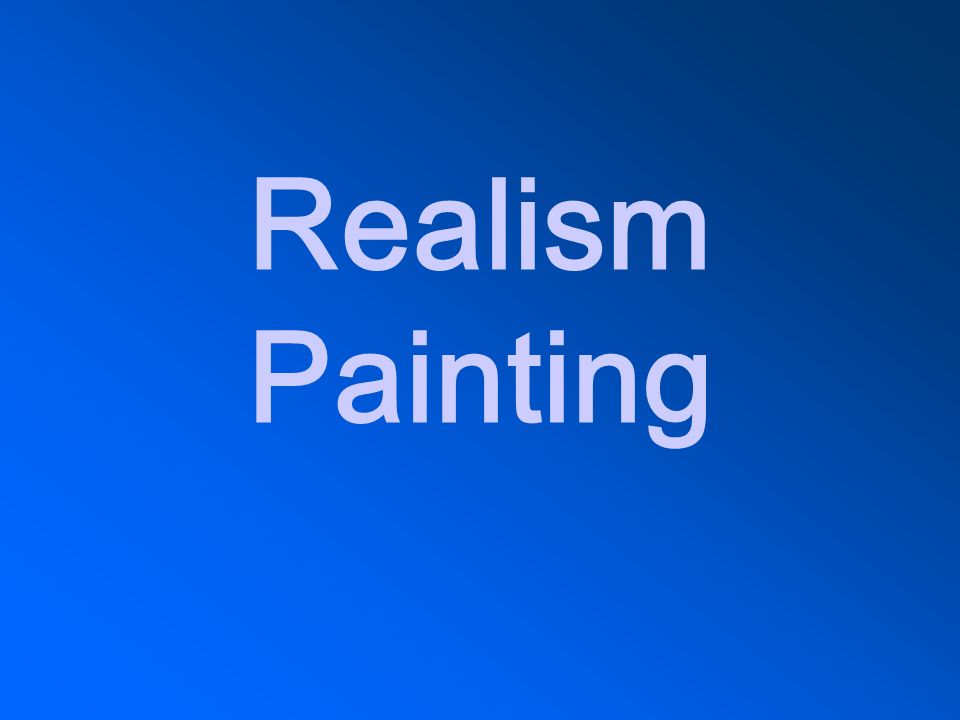 Realism Painting