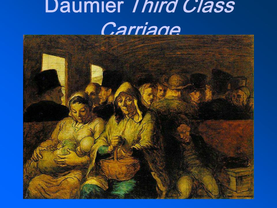 Daumier Third Class Carriage